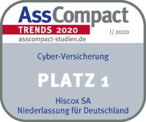 HISCOX TRENDS I 2020 Cyber Platz 1